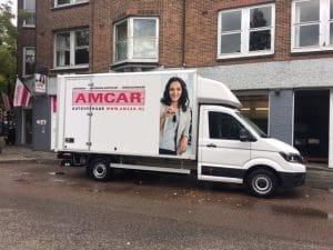 Zakelijk rijden in Amsterdam